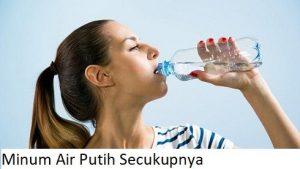 Minum Air Putih Secukupnya