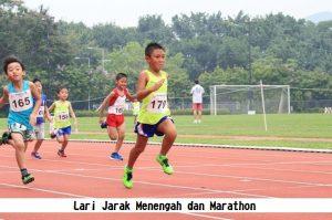 Lari Jarak Menengah dan Marathon