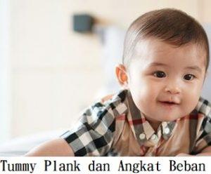 Tummy Plank dan Angkat Beban