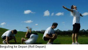 Berguling ke Depan (Roll Depan)