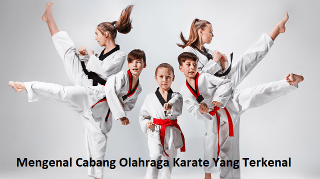 Mengenal Cabang Olahraga Karate Yang Terkenal