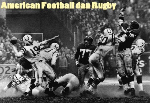 Bedanya Olahraga Rugby dan American Football