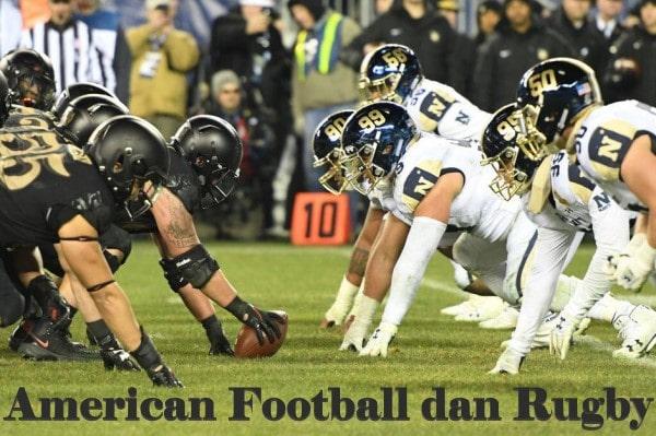 Perbedaan American Football dan Rugby